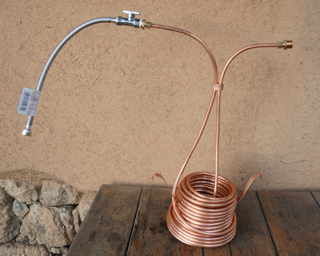 Hot water rocket stoves experimenters corner answers for Copper pipe heater